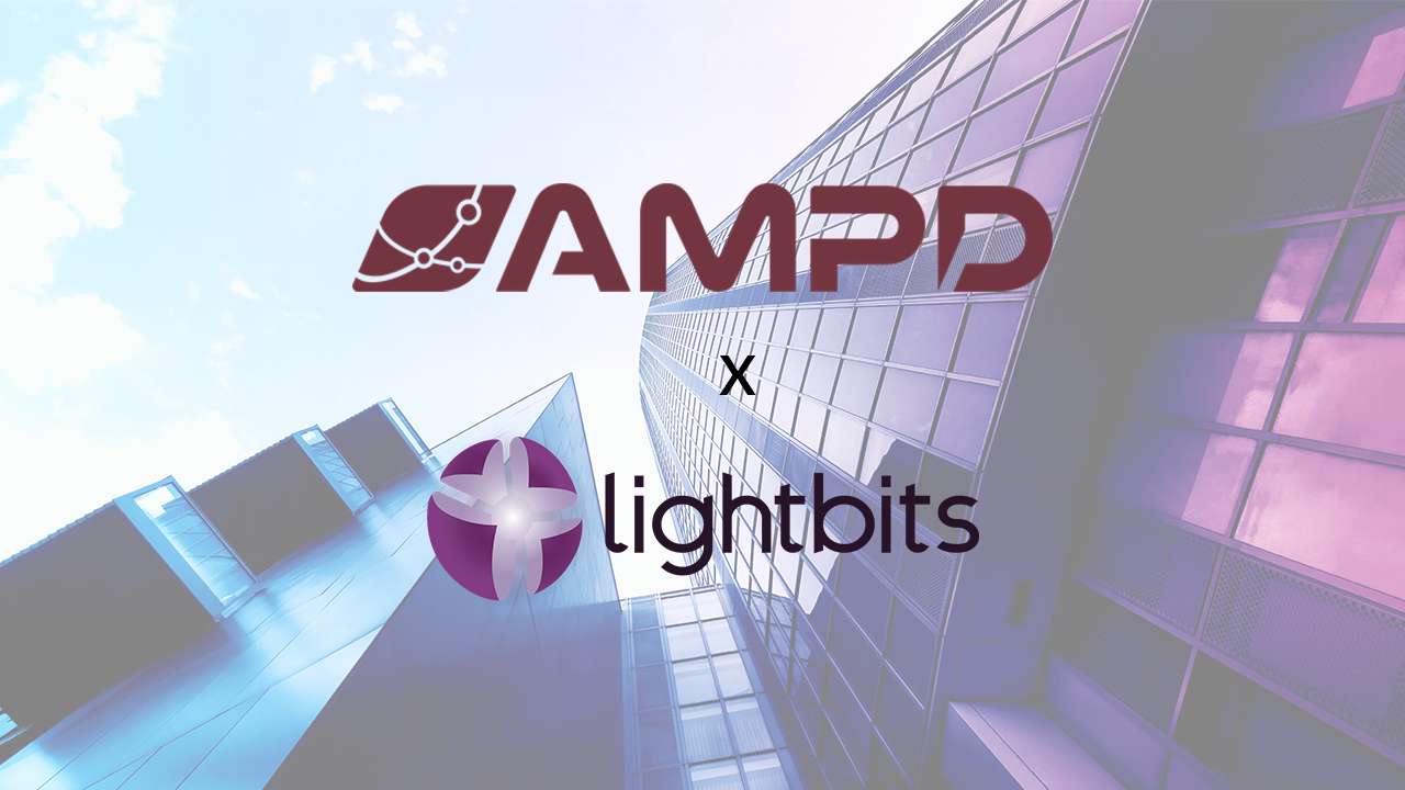AMPD Partners with Lightbits Labs™ as their first Cloud Service Provider Partner